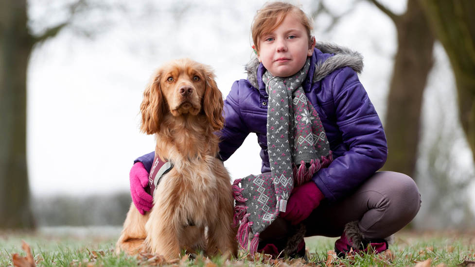 Hearing dogs for children