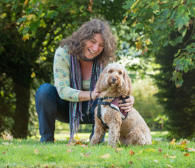 A hearing dog's placement with deaf person