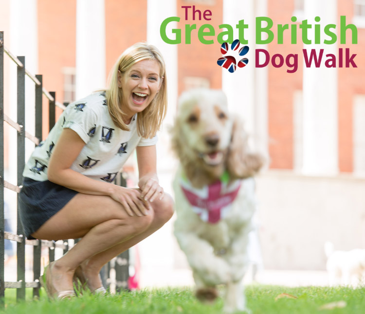 Rachel Riley Great British Dog Walk
