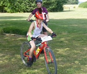Noah cycles 30 miles for Hearing Dogs!