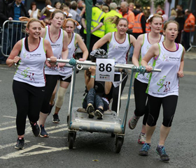 hearing dogs bed race