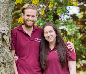Volunteers of the Month hearing dogs for deaf people