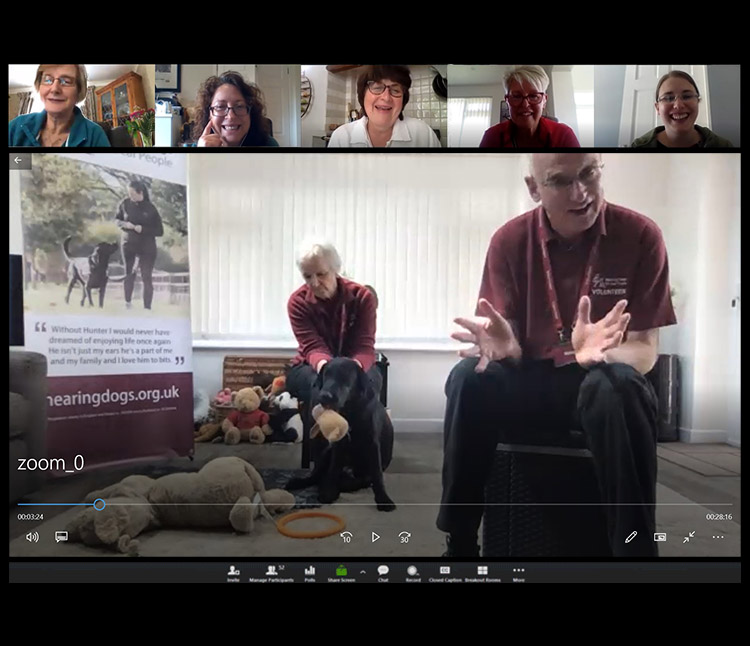 Virtual speaker for Hearing Dogs