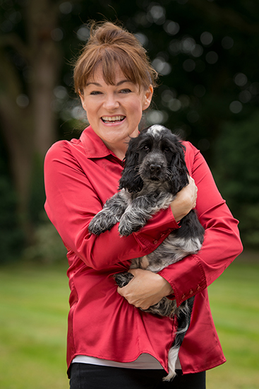Hearing Dogs chief executive Michele Jennings