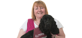 hearing dog partnership Beth and Biscuit
