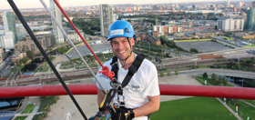 ArcelorMittal Orbit Abseil for Hearing Dogs