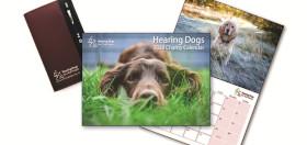 Hearing Dogs calendar,diary and stationery