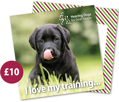 £10 Hearing Dogs Gift Card - Labrador