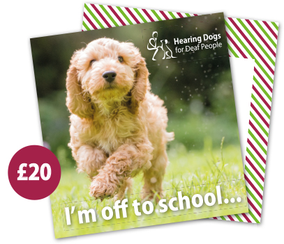 £20 Hearing Dogs Gift Card - Cockapoo