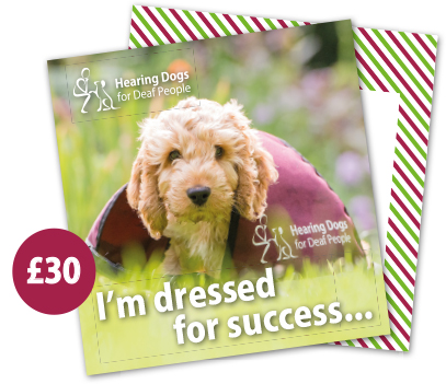 £30 Hearing Dogs Gift Card - Cockapoo