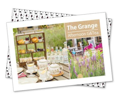 Grange Afternoon G&Tea Gift Voucher