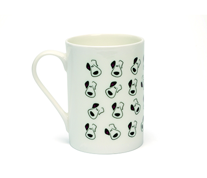 Puppy Face (Multi) China Mug