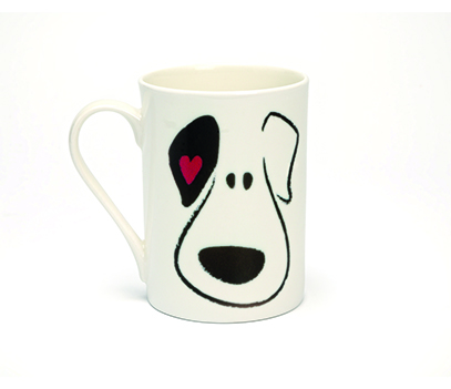 Puppy Face China Mug