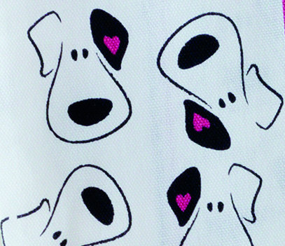 Puppy Face (Multi) cotton Tea Towel