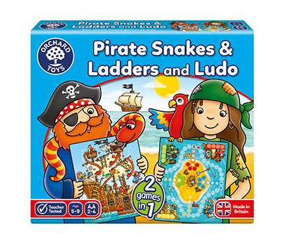 Pirate Snakes & Ladders and Ludo Board Game