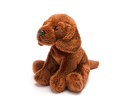 Small Chocolate Labrador Soft Toy