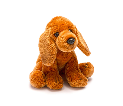 Small Brown Dachshund Soft Toy