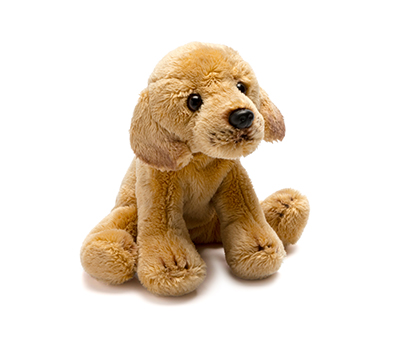 Small Yellow Labrador Soft Toy
